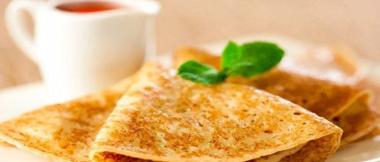 Блины на молоке тонкие с дырочками: рецепт с фото пошагово