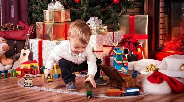 Новогодний подарок 2021 малышу до года