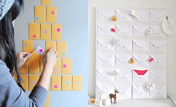 Адвент-календарь: что это такое и как сделать своими руками