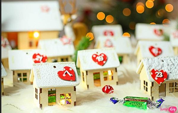 Домики на Рождество