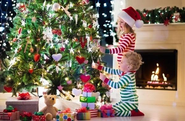 Как встретить новый год с детьми дома весело и интересно