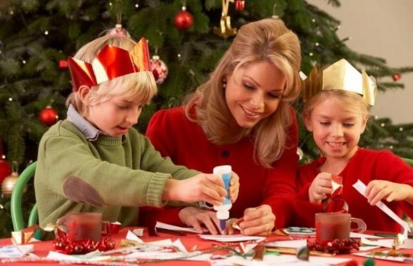 Конкурсы с детьми в новогоднюю ночь