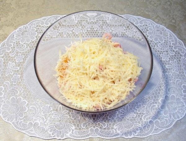 Сырный салатик