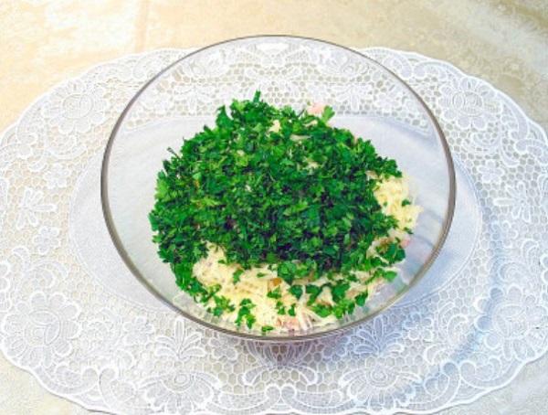 Свежий салатик