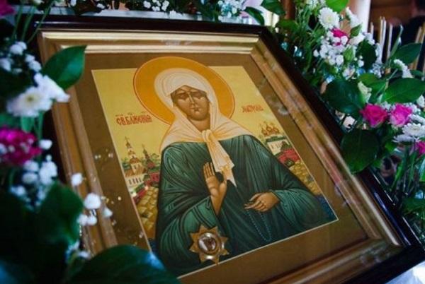 Икона Святой Матронушки