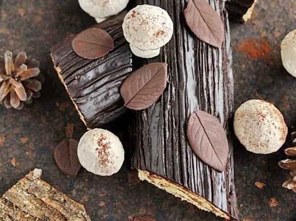 Что готовить на Рождество Христово 7 января: шоколадный рулет