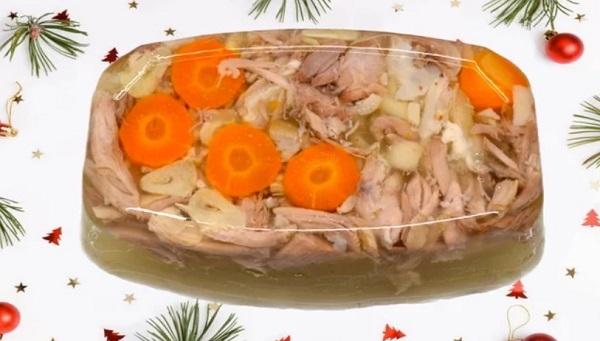 Как приготовить холодец из говядины с морковью